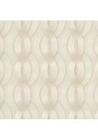 Colani Legend Tapete - Helix Spirale mit Carbonprägung (Vanille)