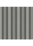 Colani Legend Tapete - versetzte Wellen (Aluminiumgrau)