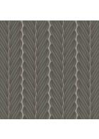 Colani Legend Tapete - Zopf Streifen (Aluminiumgrau)