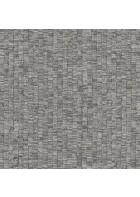 design id Vliestapete Alpha AL1005-6 - Weboptik (Silbergrau)