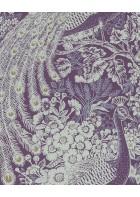 Eijffinger Reflect Vliestapete 378005 - Pfau mit Blumen (Lila)