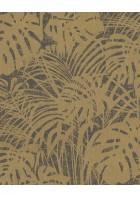 Eijffinger Reflect Vliestapete 378010 - Farnwiese (Gold/Braun)