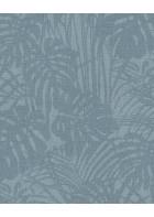Eijffinger Reflect Vliestapete 378017 - Farnwiese (Blau)