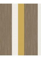 Eijffinger Streifentapete Stripes+ 377032 - Grasoptik (Ocker)