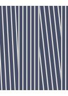 Eijffinger Streifentapete Stripes+ 377120 (Blau/Weiß)