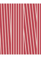 Eijffinger Streifentapete Stripes+ 377121 (Rot/Weiß)