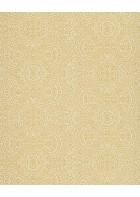 Eijffinger Sundari Vliestapete 375161 - indisches Ornament (Gelb/Weiß)