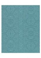 Eijffinger Sundari Vliestapete 375163 - indisches Ornament (Blau)