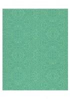 Eijffinger Sundari Vliestapete 375164 - indisches Ornament (Grün)