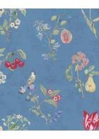 Eijffinger Tapete PIP 4 375025 - Cherry (Blau)