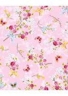 Eijffinger Tapete PIP 4 375072 - Chinese Rose (Rosa)