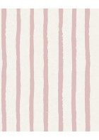 Eijffinger Tapete Stripes+ 377072 - Pastellstreifen (Rosa)