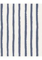 Eijffinger Tapete Stripes+ 377074 - Pastellstreifen (Blau)