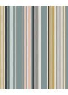 Eijffinger Tapete Stripes+ 377111 - strukturierte Streifen (Blau)