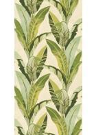Eijffinger Tapeten Panel 384600 - Miami Green (Creme)