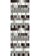 Eijffinger Tapeten Panel Stripes+ 377201 ULTI MULTI (Schwarz/Weiß)