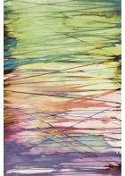 Eijffinger Tapeten Panel Stripes+ 377208 AQUALINES (Bunt/Grün)