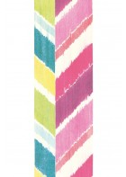 Eijffinger Tapeten Panel Stripes+ 377210 GRAND ZIGZAG (Bunt/Pink)