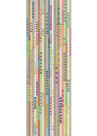 Eijffinger Tapeten Panel Stripes+ 377213 CHOPSTICKS (Bunt)