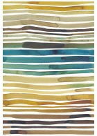 Eijffinger Tapeten Panel Stripes+ 377215 AQUASTRIPE (Ocker)
