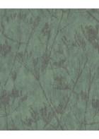 Eijffinger Vliestapete Lino 379054 - Blumen Silhouette (Grün)
