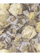Eijffinger Vliestapete Masterpiece 358004 - Blumen Gemälde (Violett)