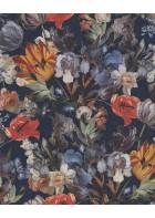 Eijffinger Vliestapete Masterpiece 358012 - Blumen Stillleben (Blau)