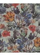 Eijffinger Vliestapete Masterpiece 358013 - Blumen Stillleben (Türkis)