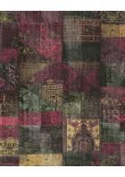 Eijffinger Vliestapete Masterpiece 358030 - Patchwork (Rot)