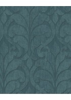 Eijffinger Vliestapete Siroc 376003 - Blätter Motiv (Blau)