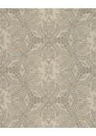 Eijffinger Vliestapete Siroc 376055 - indisches Blumenmuster (Sand)