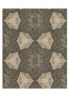 Eijffinger Vliestapete Siroc 376057 - indisches Blumenmuster (Karamell)