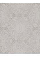 Eijffinger Vliestapete Siroc 376058 - indisches Blumenmuster (Grau)