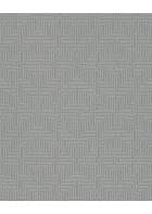 Eijffinger Vliestapete Siroc 376068 - Labyrinth Optik (Grau)