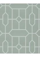 Eijffinger Vliestapete Stature 382511 - Kacheloptik (Mintgrün)