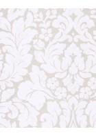 Eijffinger Vliestapete Stature 382540 - Barock Pflanzenmuster (Weiß)