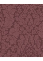 Eijffinger Vliestapete Stature 382544 - Barock Pflanzenmuster (Rot)