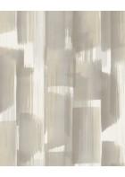 Eijffinger Vliestapete Stripes+ 377005 - breite Pinselstriche (Beigegrau)