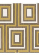 Eijffinger Vliestapete Stripes+ 377022 - geometrisches Muster (Ocker)