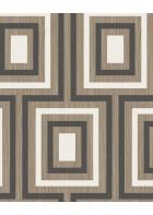 Eijffinger Vliestapete Stripes+ 377023 - geometrisches Muster (Schwarz)