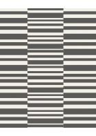 Eijffinger Vliestapete Stripes+ 377162 - Streifenmuster (Schwarz/Weiß)