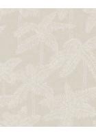 Eijffinger Vliestapete Vivid 384511 - Palmen (Sand)