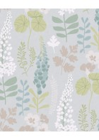 Eijffinger Vliestapete Vivid 384530 - Blumen (Hellblau)