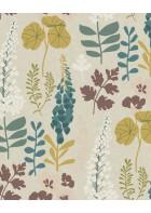 Eijffinger Vliestapete Vivid 384533 - Blumen (Sand)