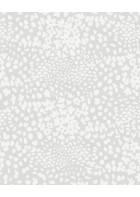 Eijffinger Vliestapete Vivid 384541 - Blumenwiese (Grau)