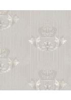 Glööckler Imperial 54858 - Damastornament - EINZELROLLE (Silber)
