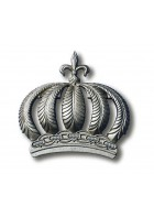 Glööckler Imperial Tapetendekoration : Krone 52719 (Silber)