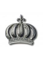 Glööckler Glööckler Imperial Tapetendekoration : Krone 52719 Silber