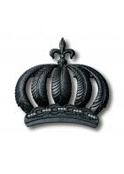 Glööckler Imperial Tapetendekoration : Krone 52720 (Schwarz)