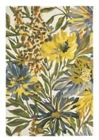 Wollteppich Floreale - Gelb